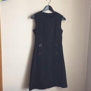 Talbots black dress 2P
